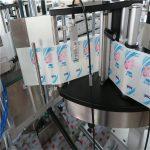 Automatikus egy- / kétoldalas hatszög kerek palack matrica címkéző gép