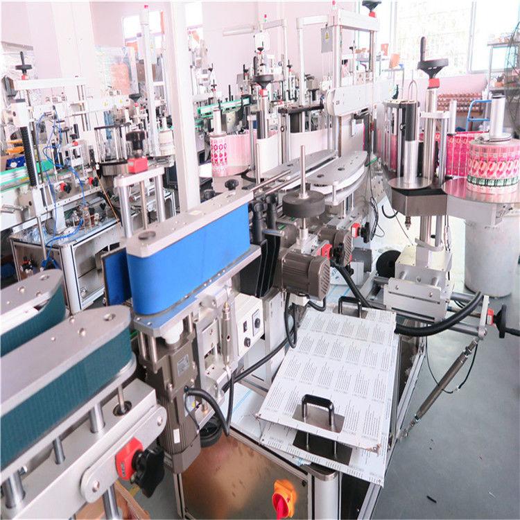 Kína palack dupla oldalsó címkéző gép különféle lapos négyzet alakú palackos üveg szállítóhoz