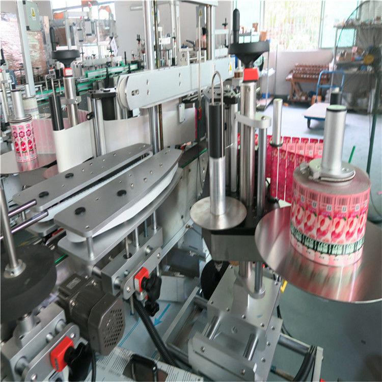 Kína elülső hátsó automatikus matrica címkéző gép öntapadó 330 mm maximális külső átmérő szállító