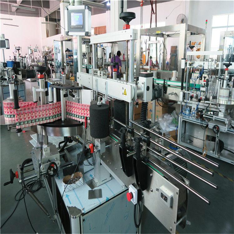 Kína 350 ml-es automatikus üvegpalack címkéző gép 190 mm-es magasságú max. Szállító