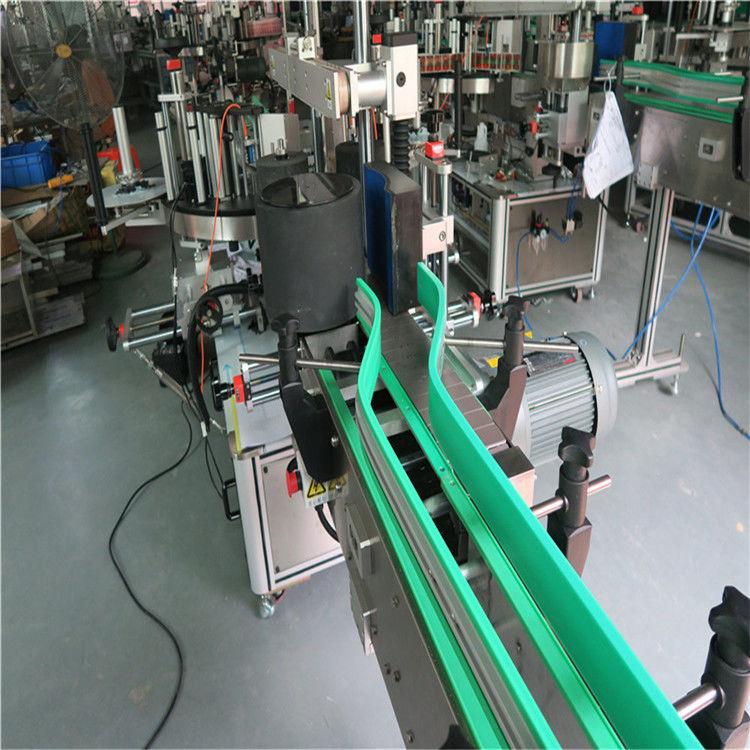 Két automatikus matrica címkéző gép kétoldalas címkéző 6000-8000 B / H