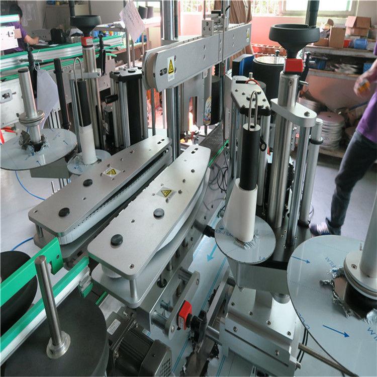 Kína teljesen automatikus matrica címkéző gép, vizes palack elülső és hátsó címkéző gép szállítója