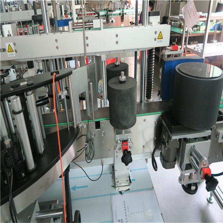 Kína automatikus üvegpalack címkéző gép Ausztrália / Chile borospohár szállító számára