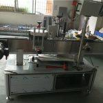 Öntapadó matrica ovális palack címkéző gép testreszabott állapotban
