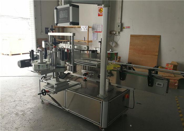 Kína kis kerek palackok gyorsan címkézett automatikus kétoldalas matrica címkéző gép szállítója