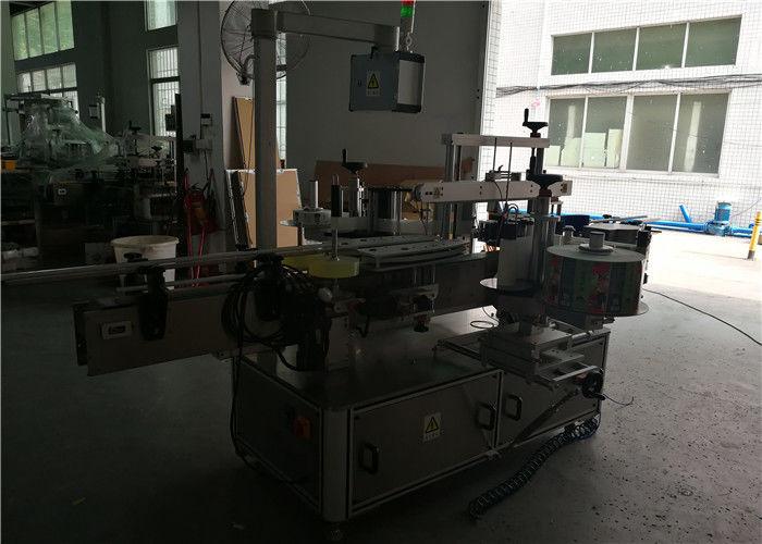 Kína kétoldalas kerek / négyzet / lapos műanyag palack címkéző gép, automatikus palack címke applikátor szállító