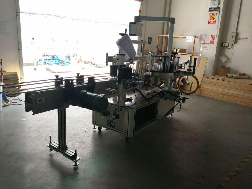 Lapos üvegnyomás-érzékeny címkézőgép egyik vagy két oldala