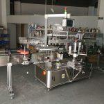 Nagy pontosságú többfunkciós lapos üveg címkéző gép elektromos meghajtású
