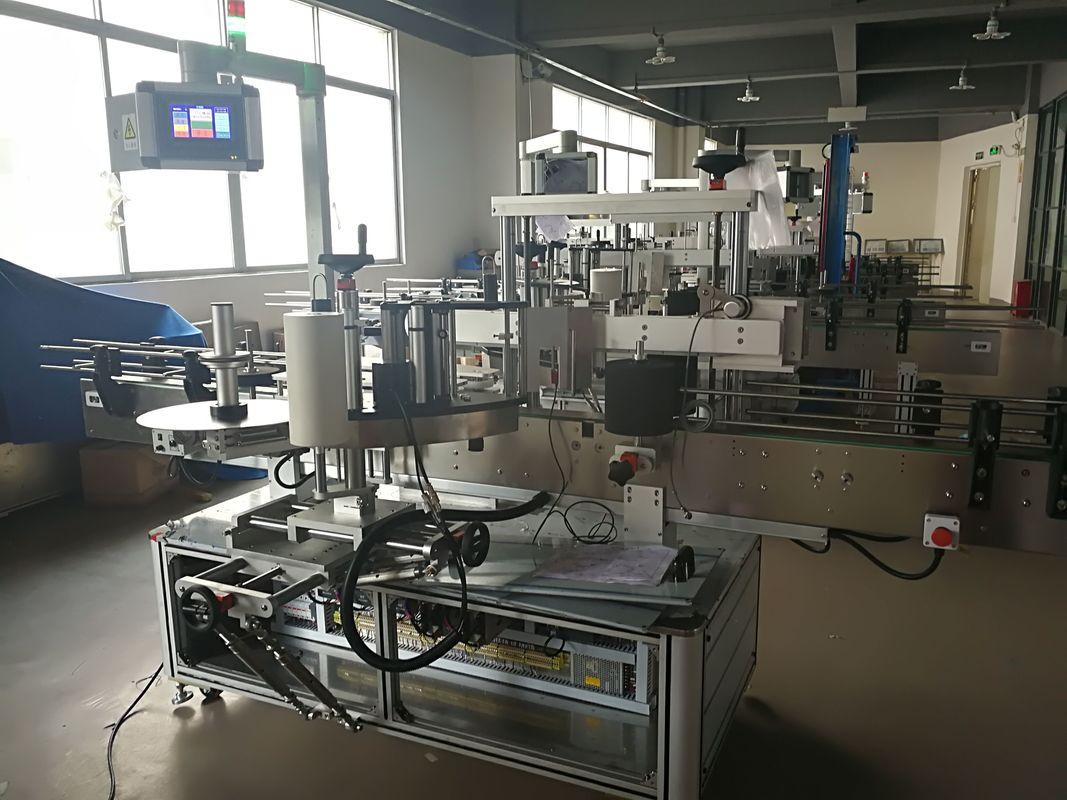 Lapos üveg címkéző gép, automatikus címke applikátor gép