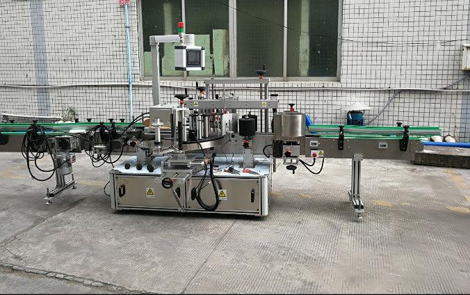 Kétoldalas automatikus matrica címkéző gép szervomotorral