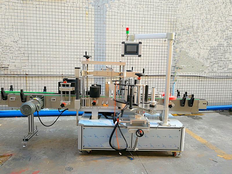 Egyszerű automatikus elülső és hátsó címkéző gép dupla oldallal