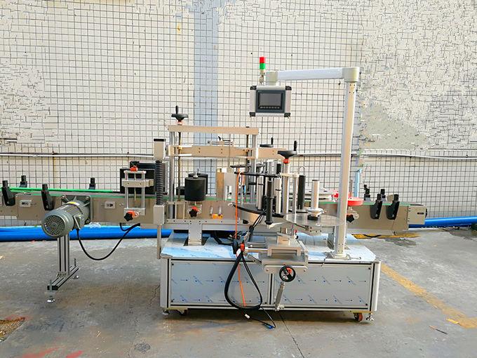 Elülső és hátsó nyomásra érzékeny öntapadó címkézőgép importált motorral