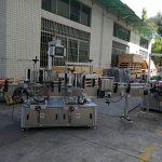 Lapos / négyzet alakú palack matrica címkéző gép teljesen automatikus 5000-8000B / H kapacitás