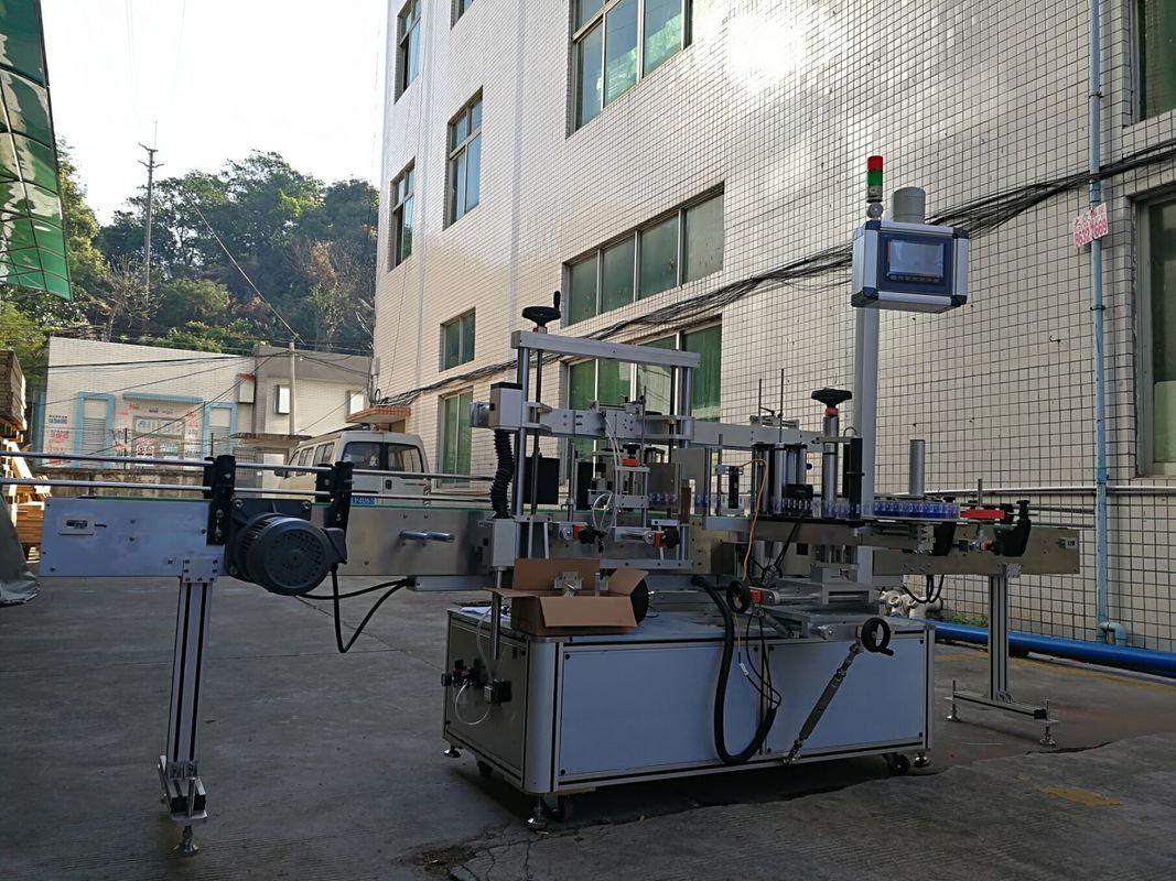 Ragasztó egyoldalas laposüveg címkéző gép nagy pontossággal